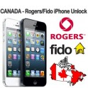 Unlock [CANADA] ROGERS/FIDO IPHONE