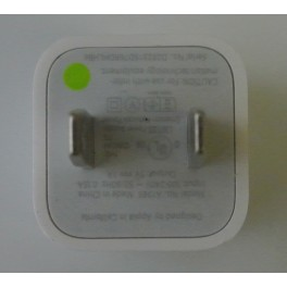 NEW Apple Genuine OEM A1265 Wall charging adapter for iPod iPhone 4 4S 5 5C 5S